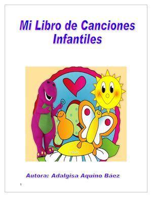 libro berta aprende musica mi calam 233 o mi libro de canciones infantiles