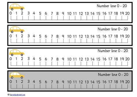 printable number line 1 20 pdf free teaching resources eyfs ks1 ks2 primary teachers