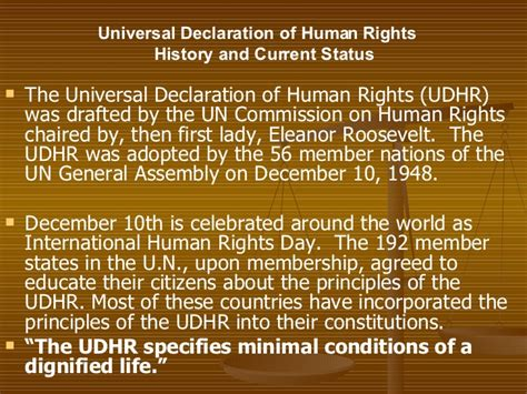 Universal Declaration Of Human Rights Essay by Universal Declaration Of Human Rights Essay