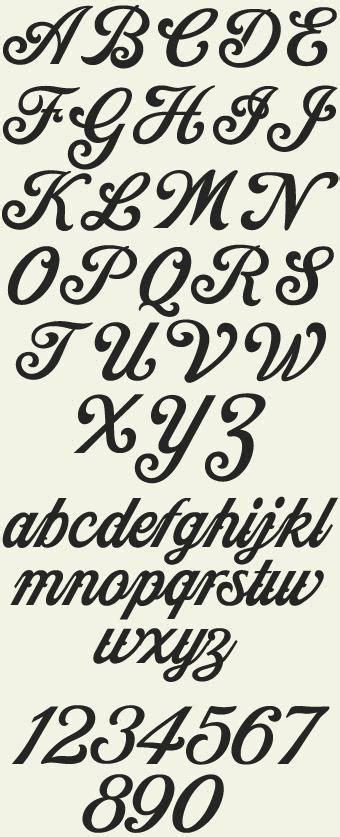 cool font alphabets fonts pinterest