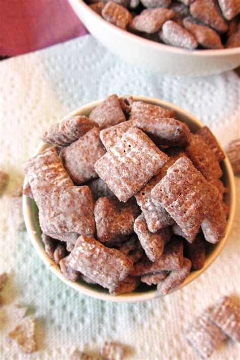 puppy chow snack mix puppy chow snack mix recipe dairy free gluten free nut free