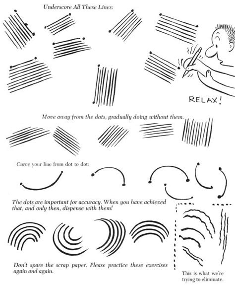 Drawing Exercises by Cartooning Exercises For Beginners