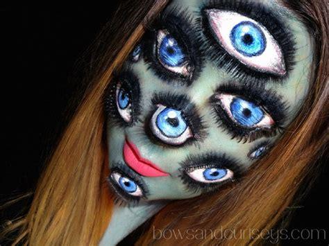 imagenes de halloween maquillage 15 ilusiones 243 pticas con maquillaje para celebrar el