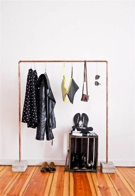Diy Wardrobe Rack by Kleiderst 228 Nder Selber Bauen 25 Diy Garderobenst 228 Nder
