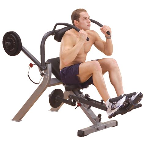bench for crunches gab300 body solid semi recumbent ab bench body solid