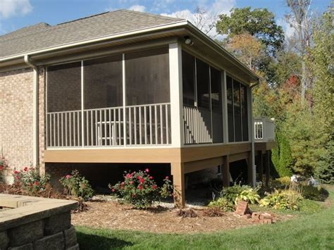 House Porches Prices 25 best ideas about screened in porch cost on screened deck screened porches and