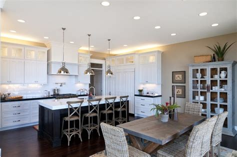 restaurants with rooms island kitchen and dining room best solution for achieving space efficient homesfeed