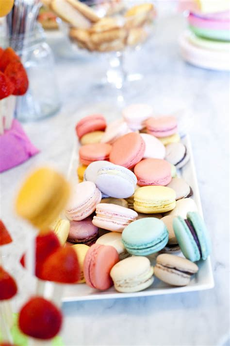 Sweet Macaron by Kara S Ideas Sweet Macaron Themed Birthday