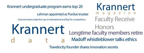 Lehman College Mba Programs by Krannert School Of Management Lehman