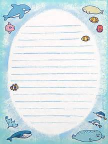 ocean writing paper free printable ocean stationary submited images pic2fly pics photos writing paper featuring a pirate cannonballs