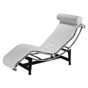 White Leather Chaise Lounge How Really Beautiful White Chaise Lounge Design Ideas Bedroomi Net