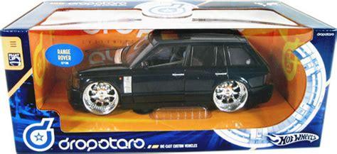 Diecast Hotwheels Range Rover land rover range rover black wheels dropstars 1 21