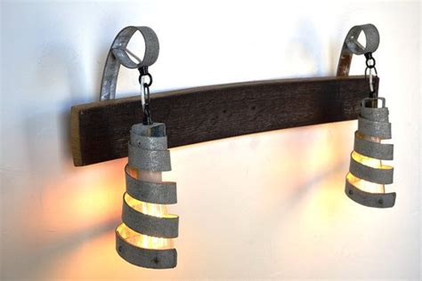 Barrel Light Fixtures 58 Best Wine Barrel Ring Lighting Images On Pinterest Wine Barrel Rings Wine Barrels And