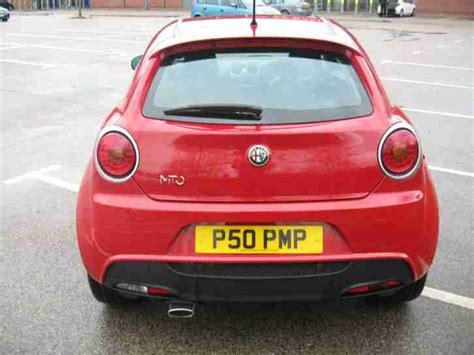 Alfa Romeo Mito Offers Alfa Romeo Mito 1 6jtdm 2010my Veloce Car For Sale
