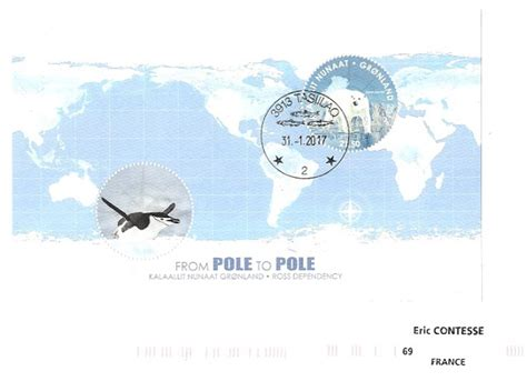 Grennland From Pole To Pole 2014 Souvenir Sheet timbr 233 de ma philat 233 lie from pole to pole