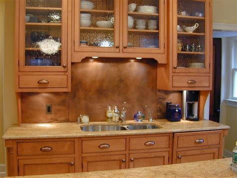 Patina Copper Backsplash by Copper Countertops Hoods Sinks Ranges Panels By
