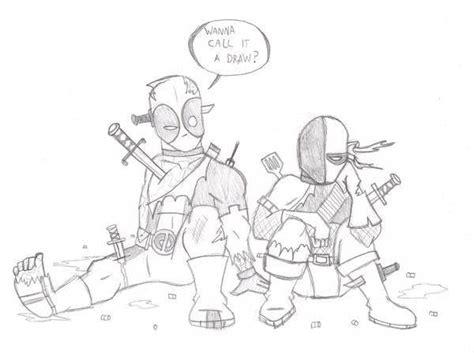 lego deathstroke coloring pages deadpool vs deathstroke battles comic vine
