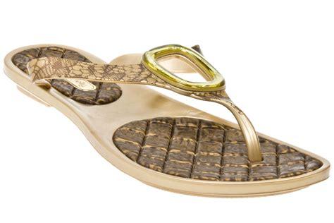 brown jelly sandals grendha jelly desire golden brown womens sandals ebay