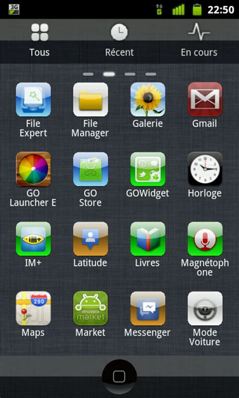 iphone themes go launcher ex iphone go launcher ex theme pour android t 233 l 233 charger