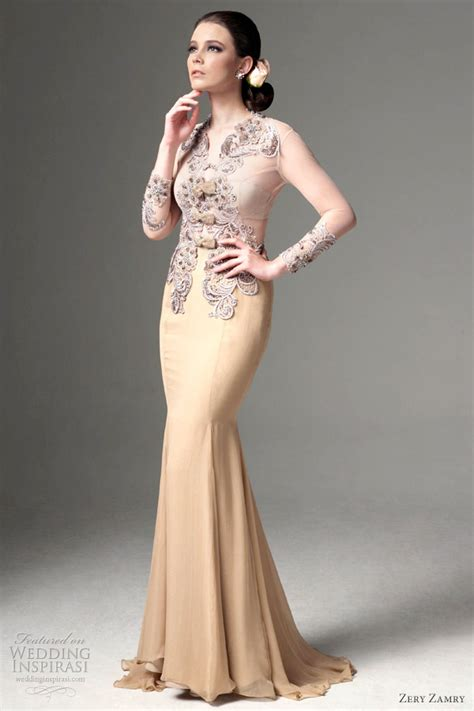 fesyen baju kurung erra fazira zery zamry bridal collection 2012 wedding inspirasi page 2