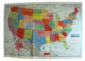 united states wall map us usa poster size 40 quot x 28 quot home