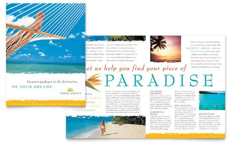 tourism brochure template travel tourism hawaii templates designs