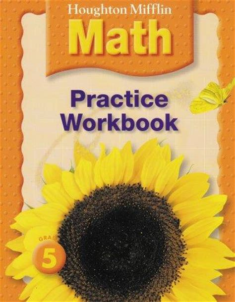 houghton mifflin math grade 1 practice workbook houghton mifflin math â 2005 books 9780618698783 houghton mifflin math practice book grade