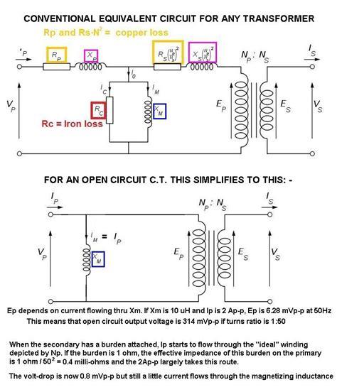 burden resistor current transformer transformer current tranformer burden resistor calculation electrical engineering stack