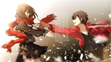 mekakucity actors amv shintaro  ayano tribute youtube