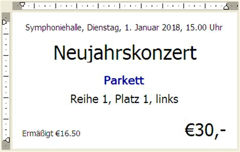 Eintrittskarten Design Vorlage Ticketcreator Eintrittskarten Gestalten Und Erstellen Ticket Design Layout Und Druck