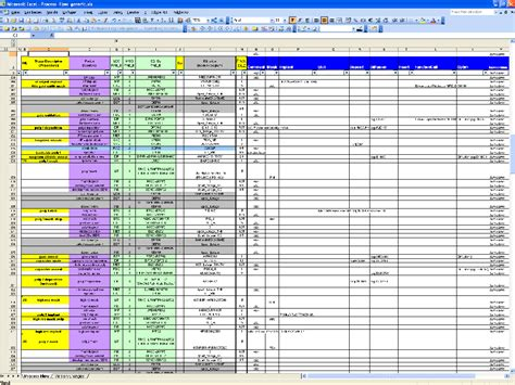 Exle Of Spreadsheet by Excel Spreadsheet Laobingkaisuo