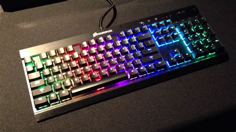 Sale Corsair Vengeance Strafe Rgb Cherrymx Rgb Brown Black Color maxresdefault load the