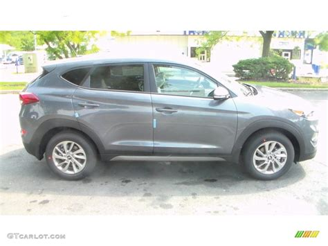 hyundai tucson 2016 grey 2016 coliseum grey hyundai tucson eco awd 107011483 photo