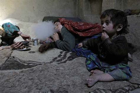 Opium Detox by Opium Addiction Takes Toll One Afghan Family At A Time