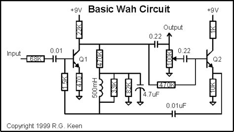 inductor wah circuit pedal modding thread