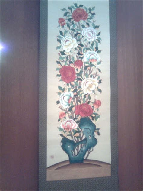 Bangau Bordir korean embroidery exhibition korean culture week what