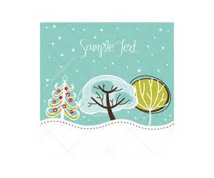 winter and vector greeting cards beautiful card templates and winter cards