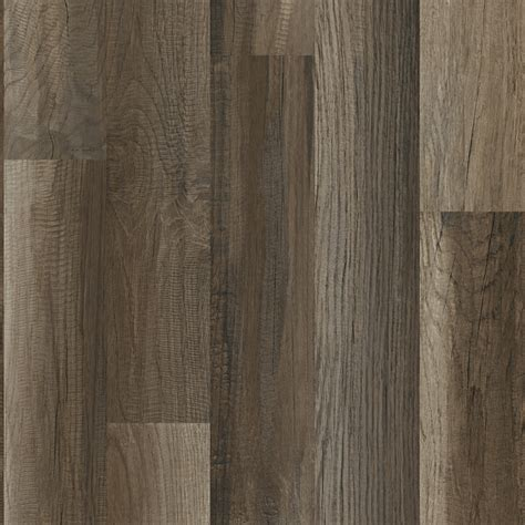 shop style selections aged gray oak wood planks laminate sle at lowes com