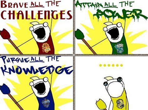 Harry Potter House Meme - 7 solution hufflepuff for lyfe