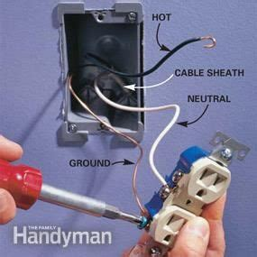 add an electrical outlet houses wall outlets