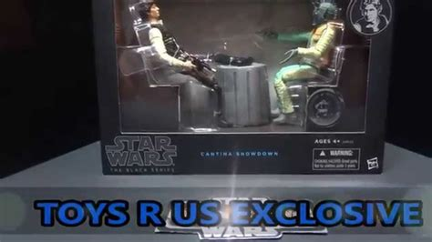 Madona Maxi 5 Black Series wars the black series cantina show han
