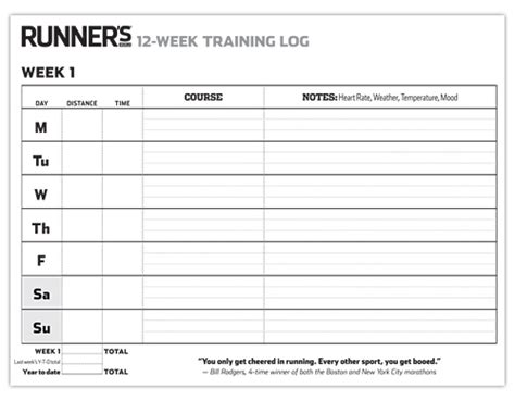 running log template printable log calendar template 2016