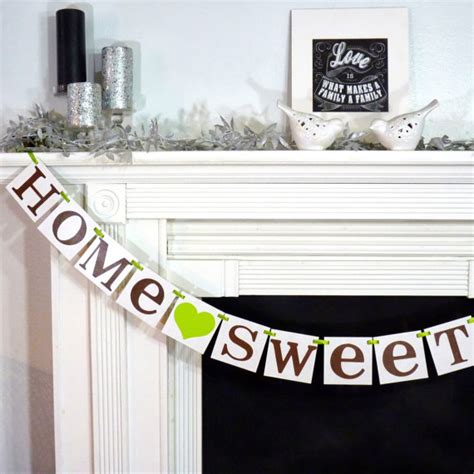 Home Sweet Home Decorations by It S A Housewarming Party B Lovely Events