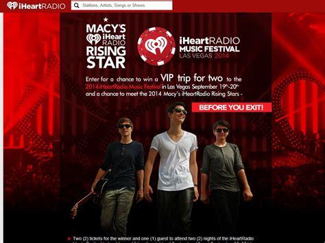 Macys Instant Win - macy s iheartradio music festival sweepstakes
