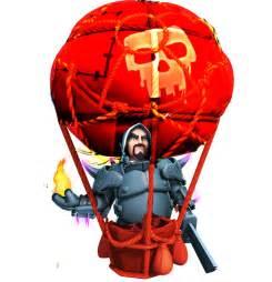 Description my pekka level 3 balloon level 6 balloon and wizard