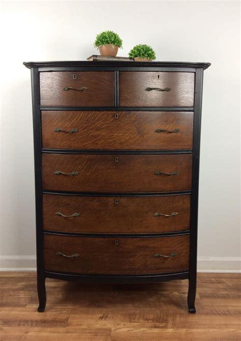 painting a stained dresser black tiger oak dresser in l black java general finishes
