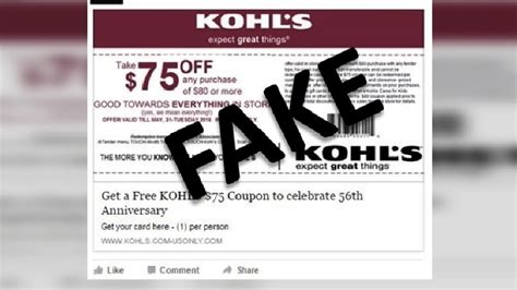 kohl s cardholders up to 80 off farmhouse inspired home scam alert kohl s 75 off coupon is too good to be true