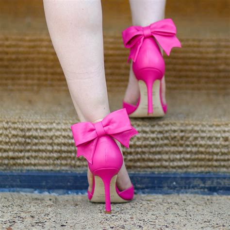 Bow Heels by Pink Heels With Bow On Back Www Pixshark Images