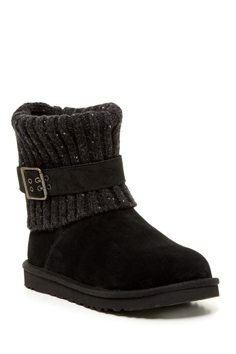 knitted boots ugg australia cambridge uggpure lined knit boot