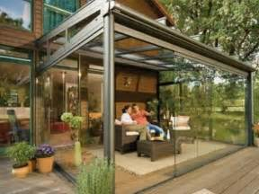 glass patio enclosure style of a yard johnson